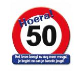 Huldeschild verkeersbord 50 jaar