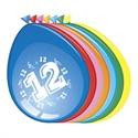 Ballonnen 12 jaar (30cm, 8 stuks)