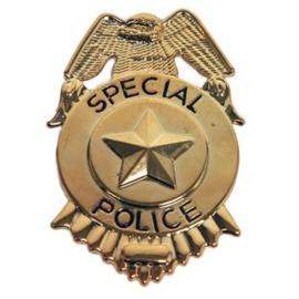 Politie Badge met clip (E50501W)