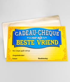 Cadeau-cheque BESTE VRIEND (39PD)