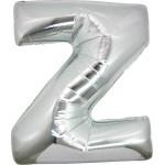 Folie Letter Z - 100 cm Zilver