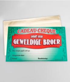 Cadeau-cheque GEWELDIGE BROER (05PD)