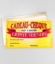 Cadeau-cheque LIEFSTE VRIENDIN (40PD)
