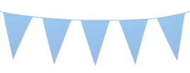 Vlaggenlijn Baby Blauw 10 meter (74748B)