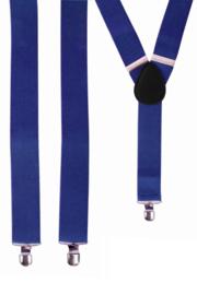 Bretel Blauw 3,5 cm breed (10042P)