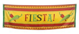 Banner / spandoek Fiesta Mexico -  220 x 74 cm (54406B)