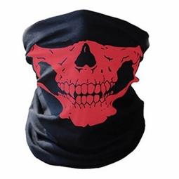 Mond- en halsdoek Skull Rood (2350GF)