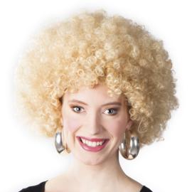 Pruik Afro Blond (86013B)