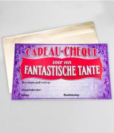 Cadeau-cheque FANTASTISCHE TANTE (10PD)