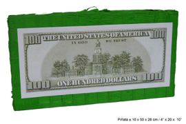 Pinata Dollarbiljet - 50 cm (66371E)