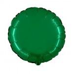 """Folie Rond 18"""" - Emerald Groen"""