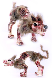 Zombie hond met licht (85376P)