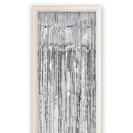 Deurgordijn Zilver 100 x 250 cm (13011W)