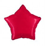 "Folie Ster 18"" - Rood / Red"