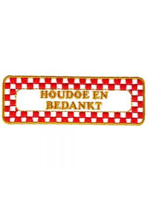 Strijkapplicatie Brabant - Houdoe (05010B)
