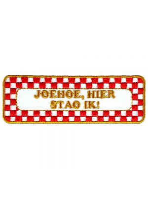 Strijkapplicatie Brabant - Joehoe (05009B)