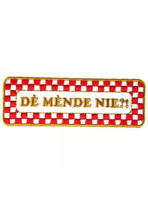 Strijkapplicatie Brabant - Mende nie (05014B)