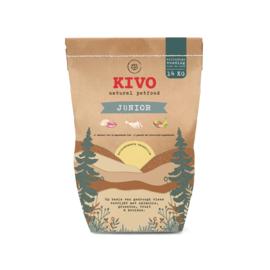 Kivo Junior geperst - Kip & Rund & Rijst | 14kg (10)