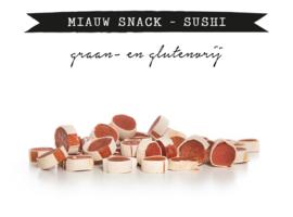 Kivo Miauw Snack Sushi Kip & Vis - 100 gram | Kat (BF)