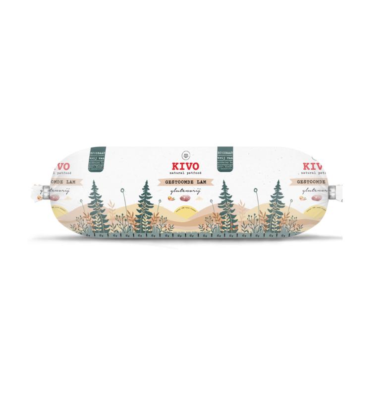 Kivo Gestoomde Lam   glutenvrij