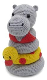 Haakpakket | Hardicraft | Helga het Nijlpaard Stapeltoren