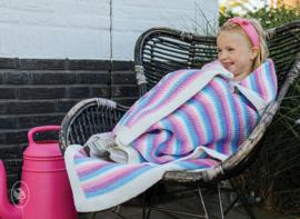 Gratis haakpatroon | Durable | Happy Unicorn Stripes deken