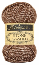 Scheepjes Stone Washed 822 Brown Agate