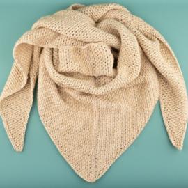 Yarn and Colors | Haakpakket | Toned Triangle Sjaal