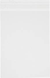 Transparante zakjes met plakstrip | 10 stuks | 12.8 x 16.5 cm