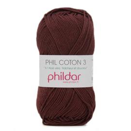 Phildar Phil Coton 3 2038 Bordeaux