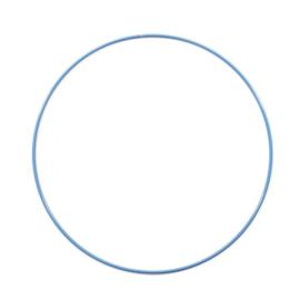 Metalen ring | 25 cm | Blauw
