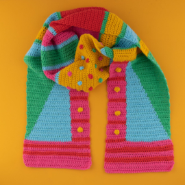 Yarn and Colors | Haakpakket | Graphic Scarf