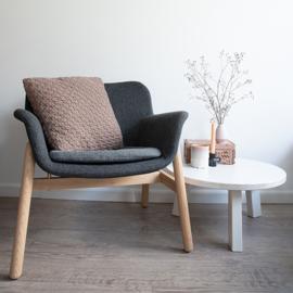Yarn and Colors | Haakpakket | Basket Weave Cushion