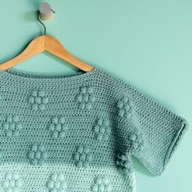 Yarn and Colors | Haakpakket | Spring Flowers Tee