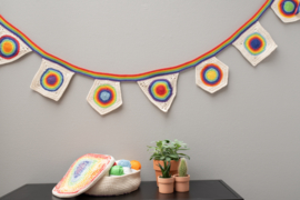 Yarn and Colors | Haakpakket | Rainbow Flag Line