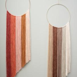 Yarn and Colors | DIY pakket | Dégradé WOW! muurhanger