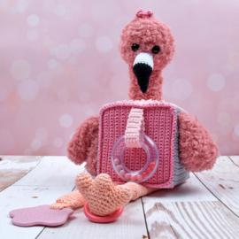 Haakpatroon Speelkubus Flamingo   Afgedrukt exemplaar