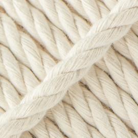 Katoen koord | Dik touw voor regenboogjes | Ecru