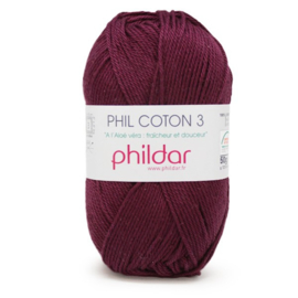 Phildar Phil Coton 3 1420 Prune