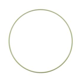 Metalen ring | 25 cm | Groen
