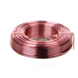 Aluminiumdraad / ijzerdraad voor punnikvormen | Roze | 60 meter