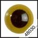 Veiligheidsoogjes | Rond | Olijf | 5 paar | 6 mm