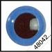 Veiligheidsoogjes | Rond | Lichtblauw | 5 paar | 6 mm