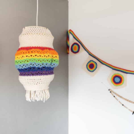 Yarn and Colors | Haakpakket | Rainbow Lamp
