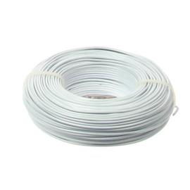 Aluminiumdraad / ijzerdraad voor punnikvormen | Wit | 60 meter