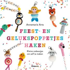 Boek   Feest- en gelukspoppetjes haken   Annemarie Arts