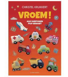 Boek   Vroem! Alle voertuigen plat gehaakt   Christel Krukkert