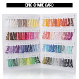Yarn and Colors Shadecard | Epic