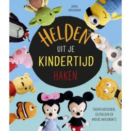 Boek | Helden uit je kindertijd haken | Sofie Kirschbaum