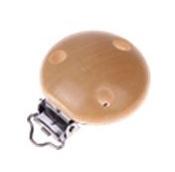 Houten speenclip blank (30 mm)